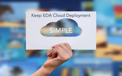 Keep EDA Cloud Deployment Simple
